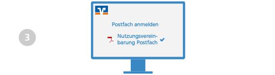 VR Bank Main-Kinzig-Büdingen Elektronisches Postfach Freischaltung Schritt 3