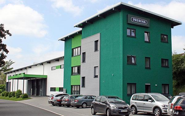 Firmensitz Prebena in Schotten
