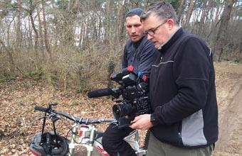 Ralf Früchtl als Regisseur und Kameramann