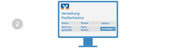 VR Bank Main-Kinzig-Büdingen Elektronisches Postfach Freischaltung Schritt 2
