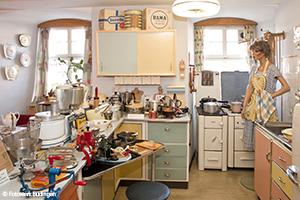 Küche im 50er Jahre Museum