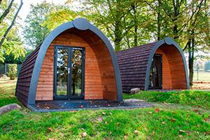 Woodlodges im Campingpark Gedern