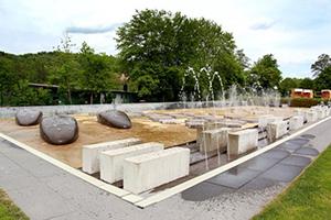 Wasserspielgarten im Freibad Büdingen