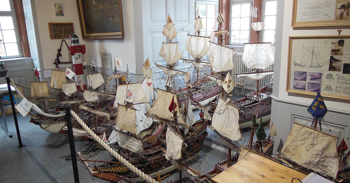 Historische Schiffsflotte