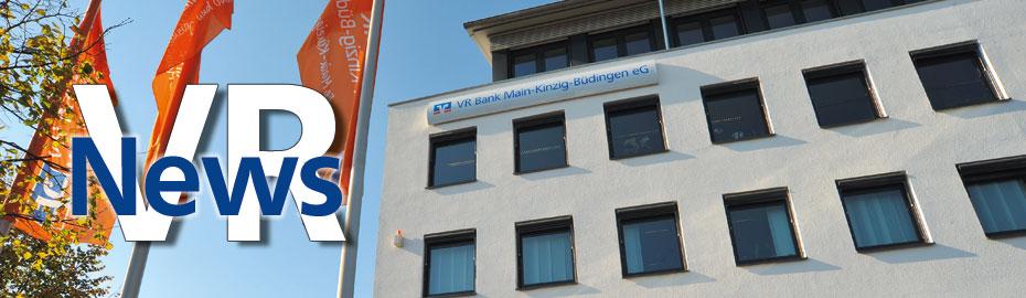 VR-News - Die Infoseite rund um die VR Bank Main-Kinzig-Büdingen eG, Informationen, Gewinnsparen, Spenden, Aktionen, Aus der Region, Online-Banking, Archiv