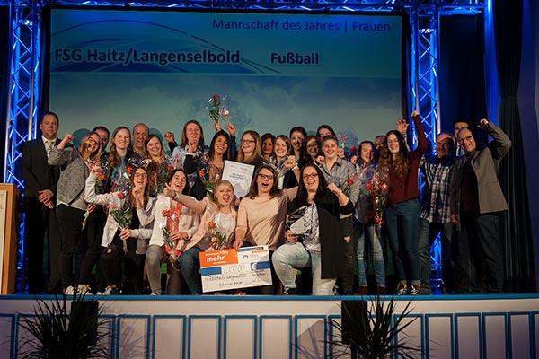 Mannschaft des Jahres: FSG Haitz/Langenselbold - GNZ Sportlerwahl 2017
