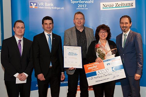 Ehreamtspreisträger: Martina und Hartmut Uebel vom SV Hochland Fischborn - GNZ-Sportlerwahl 2017