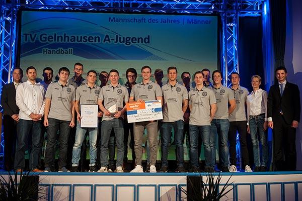 Mannschaft des Jahres Männer: A-Jugend TV Gelnhausen - GNZ-Sportlerwahl 2017