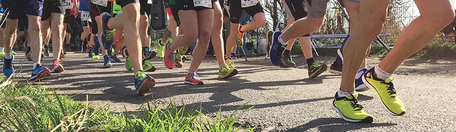 Läufer beim VegRennen