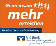 Gemeinsam mehr erreichen - VR Bank Main-Kinzig-Büdingen
