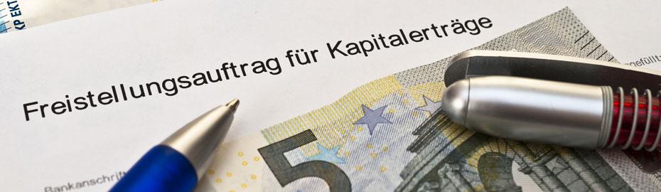 Freistellungsauftrag - VR-Bank-Main-Kinzig-Büdingen
