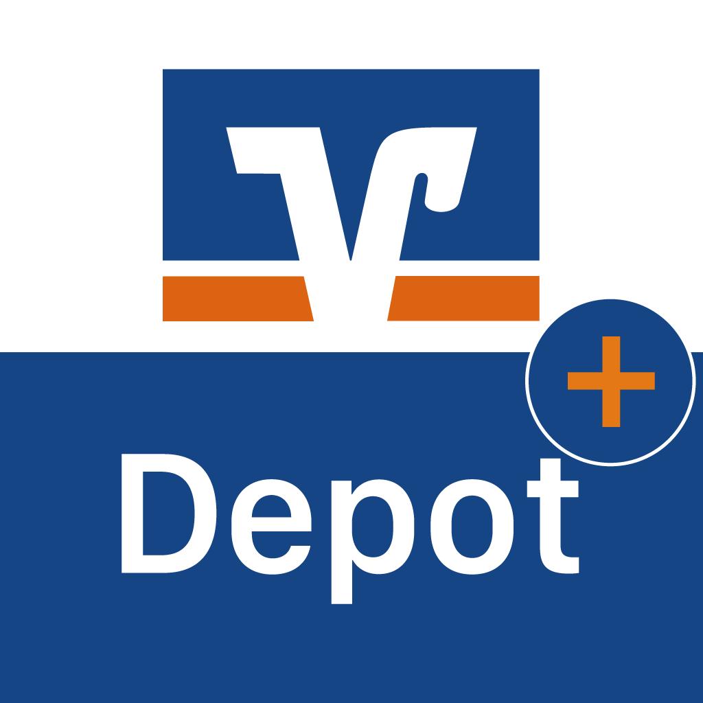 Icon DepotPlus-App - VR Bank Main-Kinzig-Büdingen eG