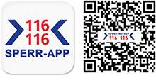 Sperr-App 116116