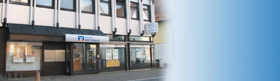 VR Bank Main-Kinzig-Büdingen eG, Geschäftsstelle Salmünster, Frankfurter Str. 44-48, 63628 Bad Soden-Salmünster