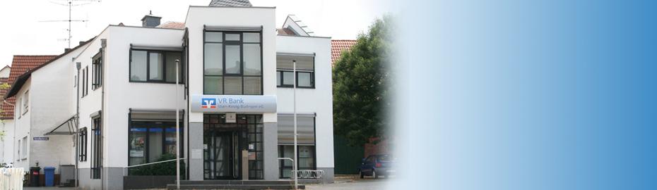 VR Bank Main-Kinzig-Büdingen eG, Geschäftsstelle Kassel, Spessartstr. 55, 63599 Biebergemünd
