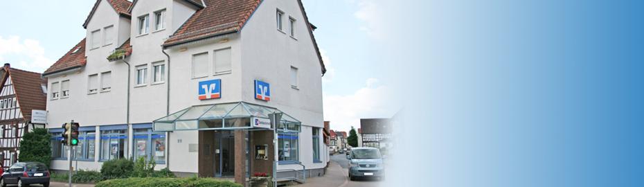 VR Bank Main-Kinzig-Büdingen eG, Geschäftsstelle Roßdorf, Hanauer Str. 22, 63486 Bruchköbel