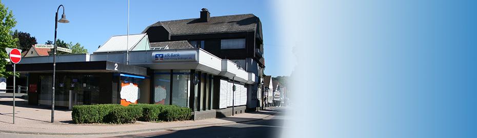 VR Bank Main-Kinzig-Büdingen eG, Geschäftsstelle Gedern, Lauterbacher Str. 2-4, 63688 Gedern