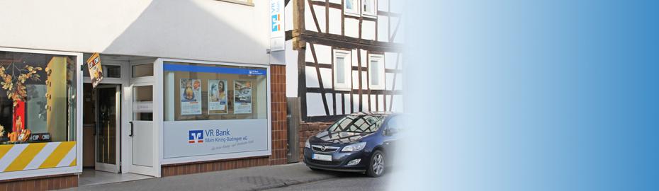 VR Bank Main-Kinzig-Büdingen eG, SB-Stelle Düdelsheim, Hauptstr. 27, 63654 Büdingen