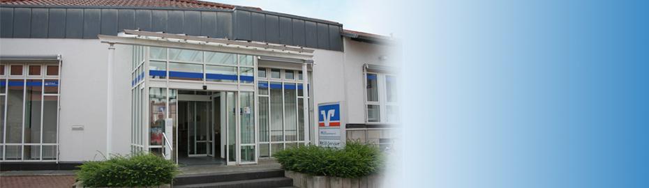 VR Bank Main-Kinzig-Büdingen eG, Geschäftsstelle Ravolzhausen, Bahnhofstr. 11, 63543 Neuberg
