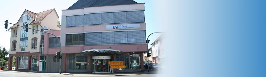 VR Bank Main-Kinzig-Büdingen eG, Geschäftsstelle Nidda, Neue Str. 14, 63667 Nidda