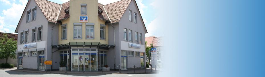 VR Bank Main-Kinzig-Büdingen eG, Geschäftsstelle Ostheim, Wonnecker Str. 1, 61130 Nidderau