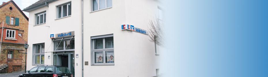 VR Bank Main-Kinzig-Büdingen eG, Geschäftsstelle Ortenberg, Philipp-Glenz-Str. 3, 63683 Ortenberg