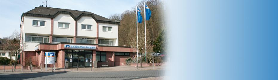 VR Bank Main-Kinzig-Büdingen eG, Geschäftsstelle Wächtersbach, Lindenplatz 8, 63607 Wächtersbach