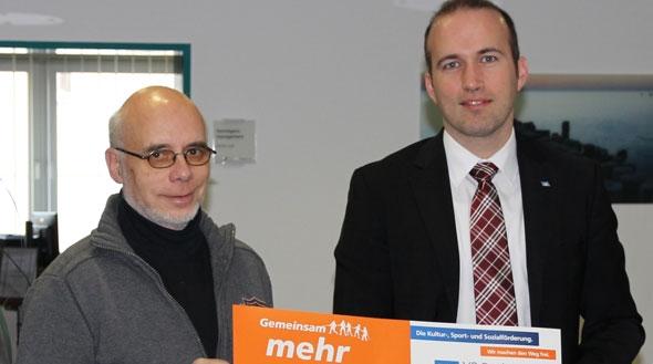 Tafelldaen Nidda erhält Spende von der VR Bank Main-Kinzig-Büdingen