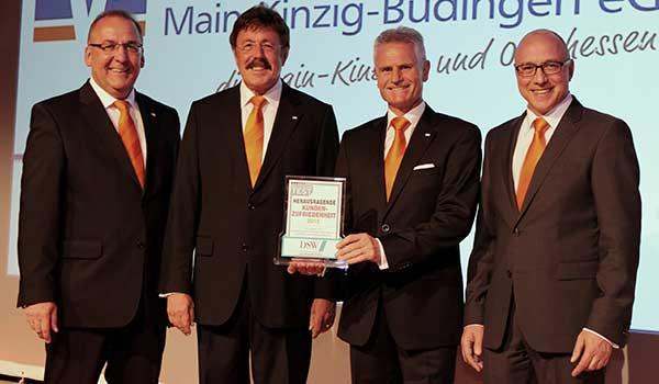 VR Bank Main-Kinzig-Büdingen eG freut sich über herausragende Kundenzufriedenheit