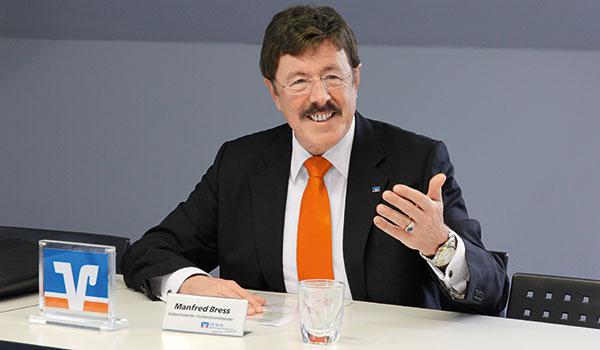 Manfred Bress verabschiedet sich in den Ruhestand