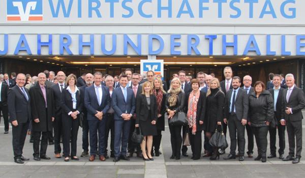Wirtschaftstag 2017 in der Jahrhunderthalle Frankfurt