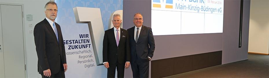 Bilanzpressekonferenz - VR Bank Main-Kinzig-Büdingen eG