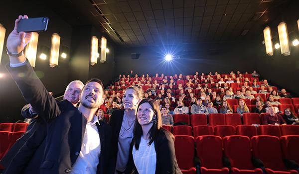 Mitgliederversammlung im Kinosaal des Luxor Filmpalast in NIdderau