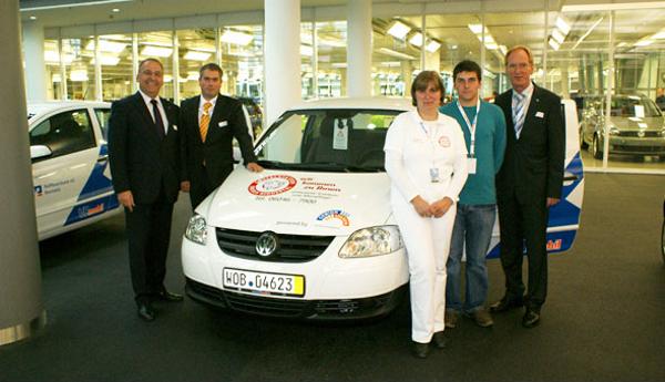 VRmobil in Wolfsburg übergeben