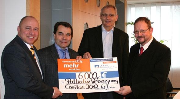 VR Bank ünterstützt Palliativ-Versorgung im Main-Kinzig-Kreis