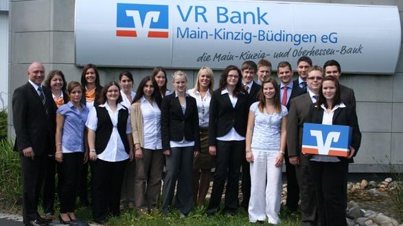 VR Bank-Azubis starten ins Berufsleben