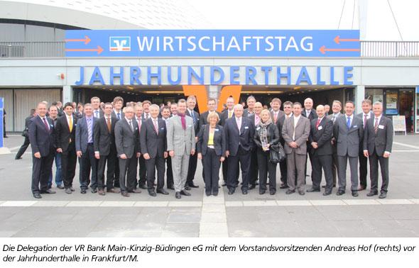 Wirtschaftstag der Volksbanken Raiffeisenbanken in Frankfurt