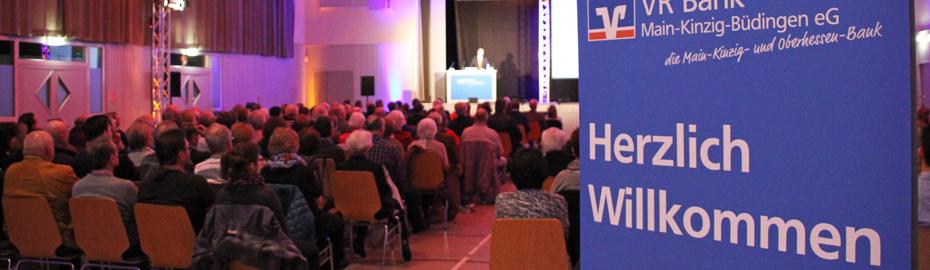 Livestream der Mitgliederversamlung in Büdingen