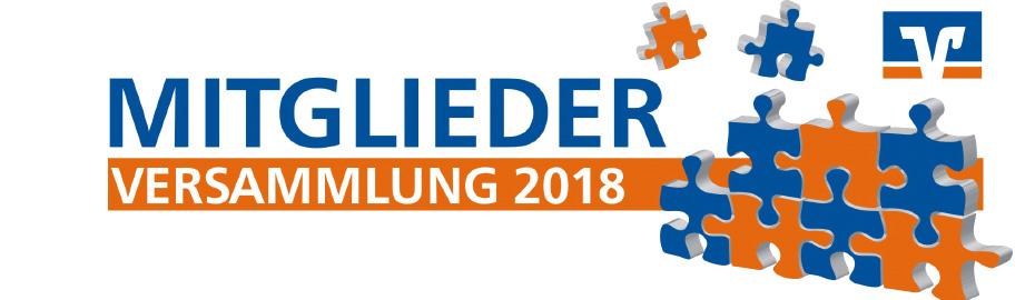 Mitgliederversammlung 2018 der VR Bank Main-Kinzig-Büdingen eG