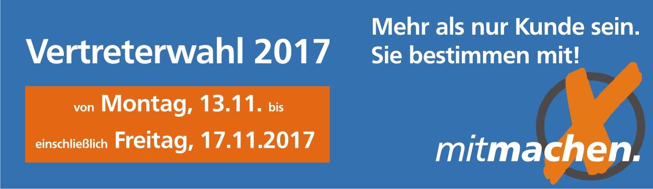 Vertreterwahl 2017 - VR Bank Main-Kinzig-Büdingen